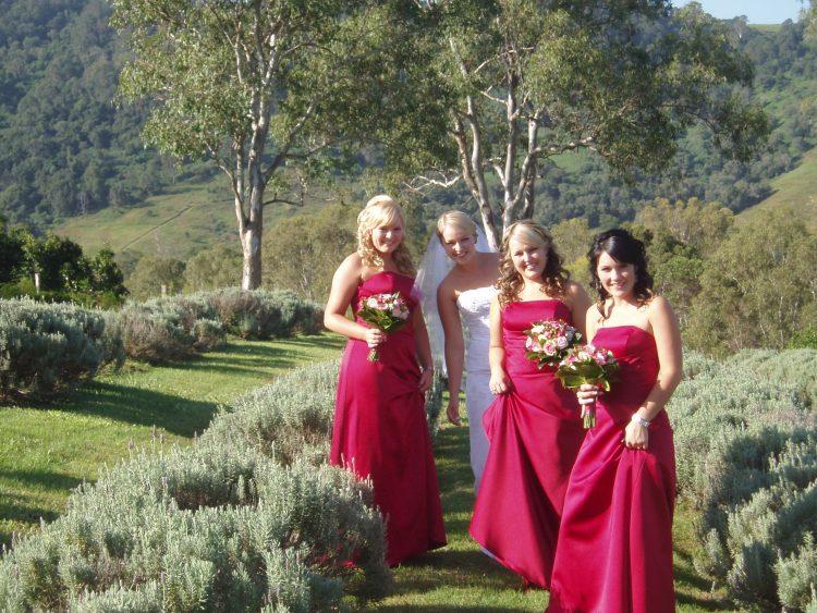 bridesmaids' getaway